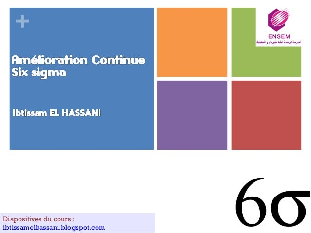 + Diapositives du cours : ibtissamelhassani.blogspot.com