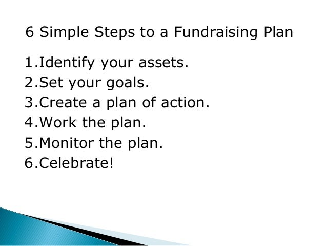 Fundraising Action Plan Template  ApigramCom