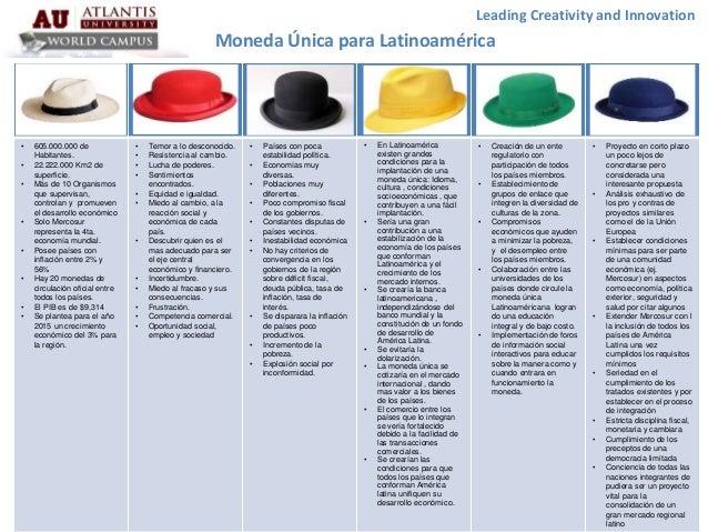 cb56521caca83 6 Sombreros Para Pensar - Moneda Unica Latinoamericana - grupo5