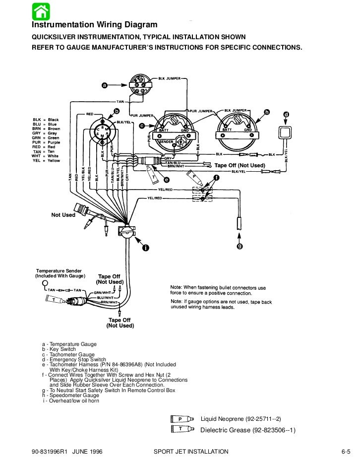 6 sport jet installation 7 728 diagrams 795570 rpm gauge wiring diagram for boat mercury teleflex fuel gauge wiring diagram at gsmportal.co
