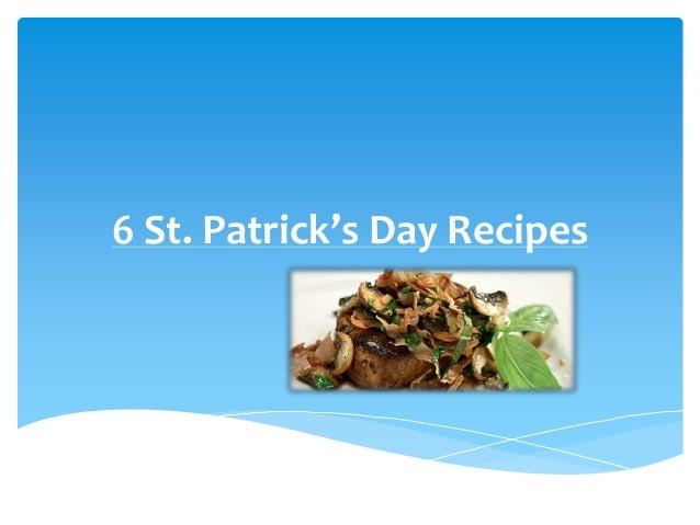 6 St. Patrick's Day Recipes