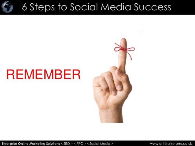 6 Steps to Social Media Success Slide 2