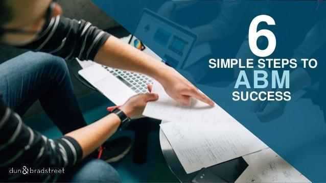 6SIMPLE STEPS TO ABM SUCCESS