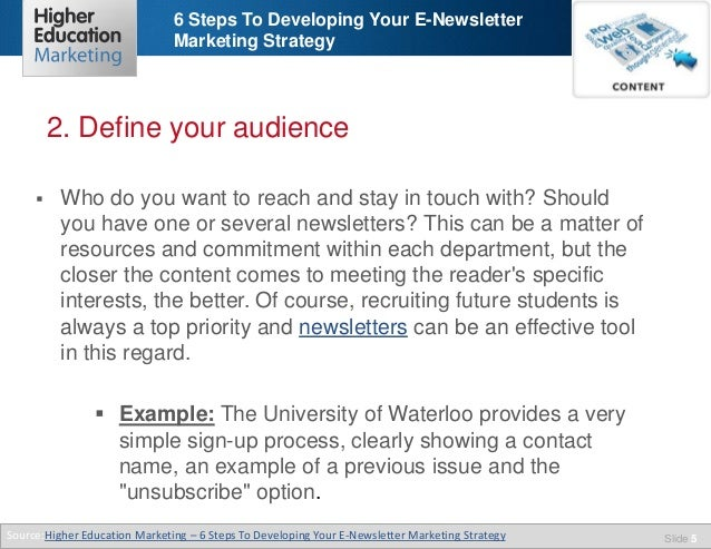 6 Steps To Developing Your E Newsletter Marketing Strategy. Best Nursing School In The World. What Education Do You Need To Be A Graphic Designer. Healthy Families Program John Doyle Insurance. How To Get A Good Credit Score Fast. How To Start Bulk Sms Business. Car Insurance Companies San Diego. Requirements For Culinary Arts. Data Recovery Austin Texas Online Mba In Usa