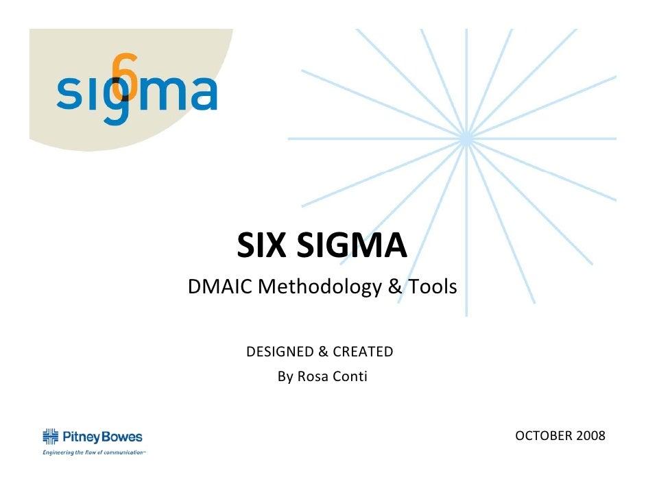 SixSigmaTools           SIXSIGMA       DMAICMethodology&Tools            DESIGNED&CREATED               ByRosaCo...