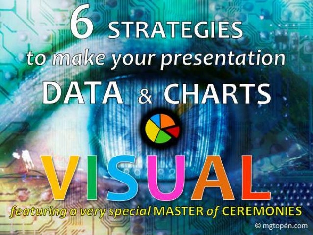 6 STRATEGIES to make your presentation DATA & CHARTS VISUAL