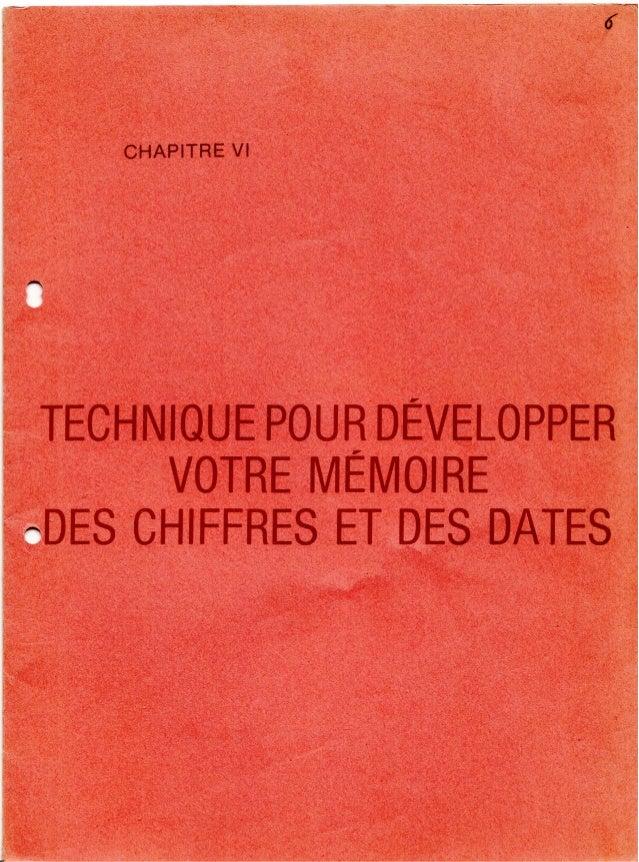 6 technique pour_developper_votre_memoire_des_chiffres_et_des_dates