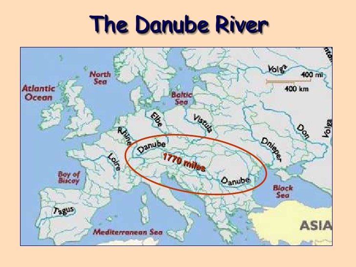 Seine River On Map Of Europe.6th Physical Geography Of Europe