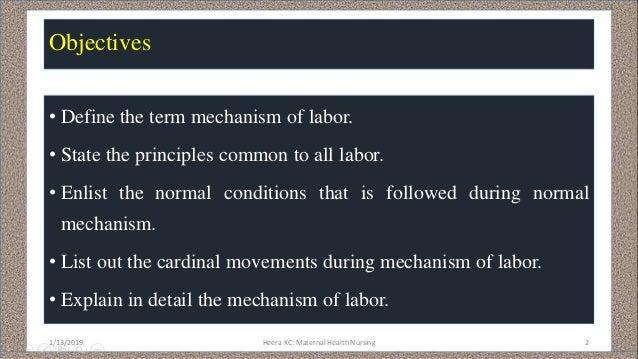 Mechanism of labour Slide 2