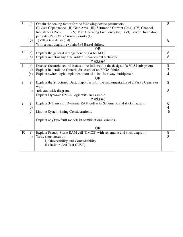 6th EC CBCS Model question papers