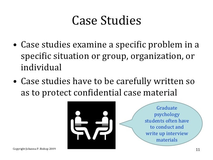writing case study format
