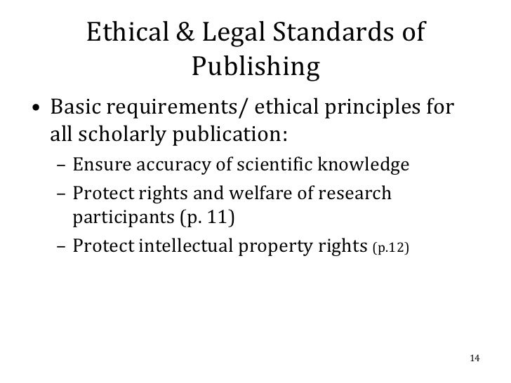Best Practice Guidelines on Publication Ethics: a Publisher's Perspective