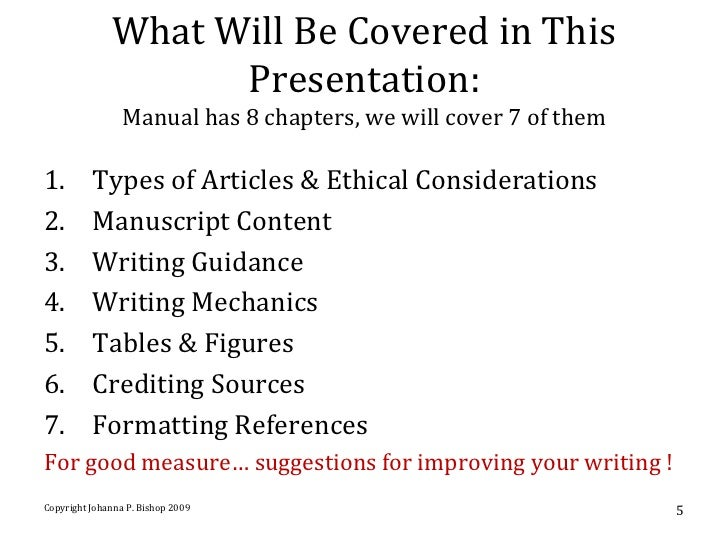 6th ed APA Style Manual