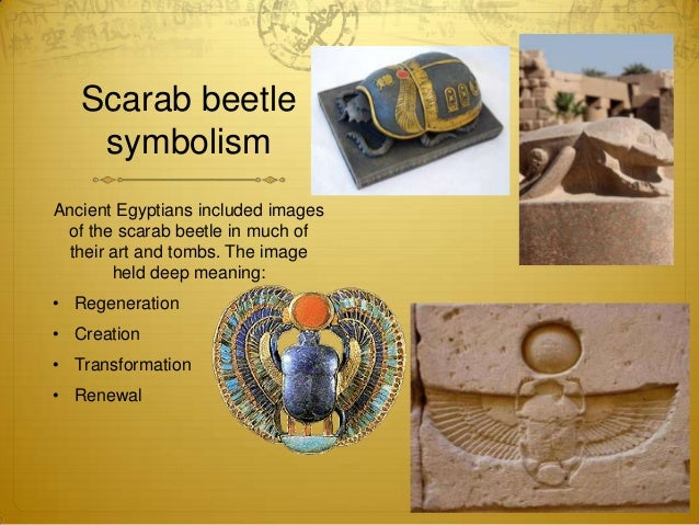 6th Egyptian Scarab