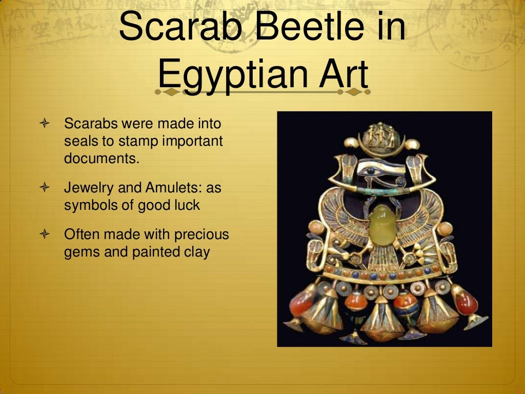 All About Egyptian Scarab Good Luck Symbol From Luck Factory