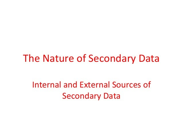 internal sources of secondary research Advantages & disadvantages of internal marketing research departments advantages & disadvantages of telephone interviews in business research [internal.