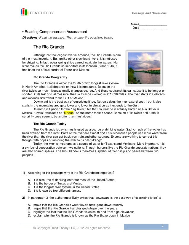 Printables Read Theory Worksheets read theory worksheets davezan collection of bloggakuten