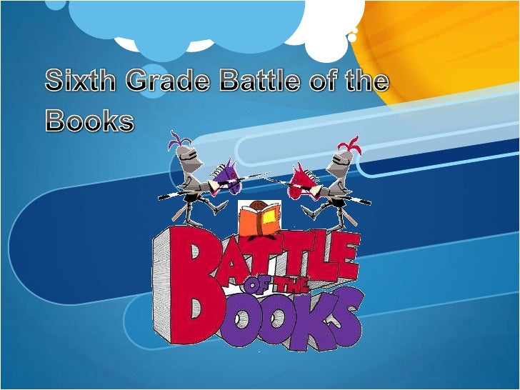 Sixth Grade Battle of the Books<br />