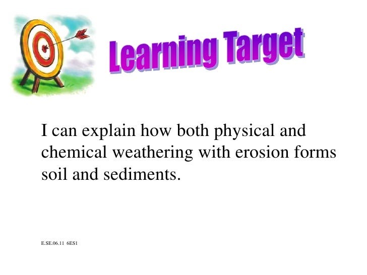 6th grade earth science learning targets for Soil 6th grade science