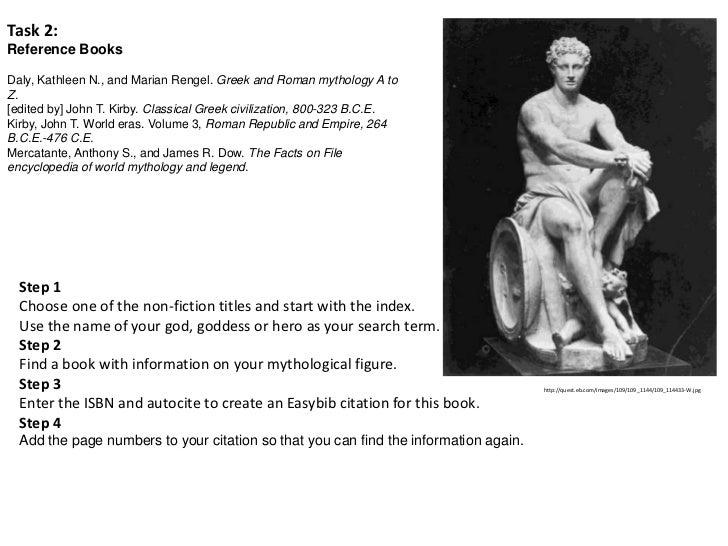 greek gods research