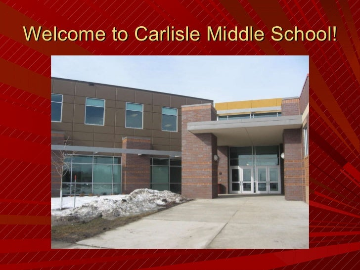 Welcome to Carlisle Middle School!