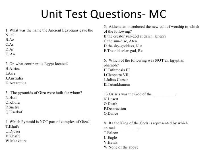 science quiz for 6th class