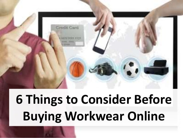 6 Things to Consider Before Buying Workwear Online
