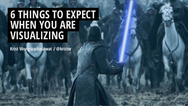 6 things to expect when you are visualizing Slide 2