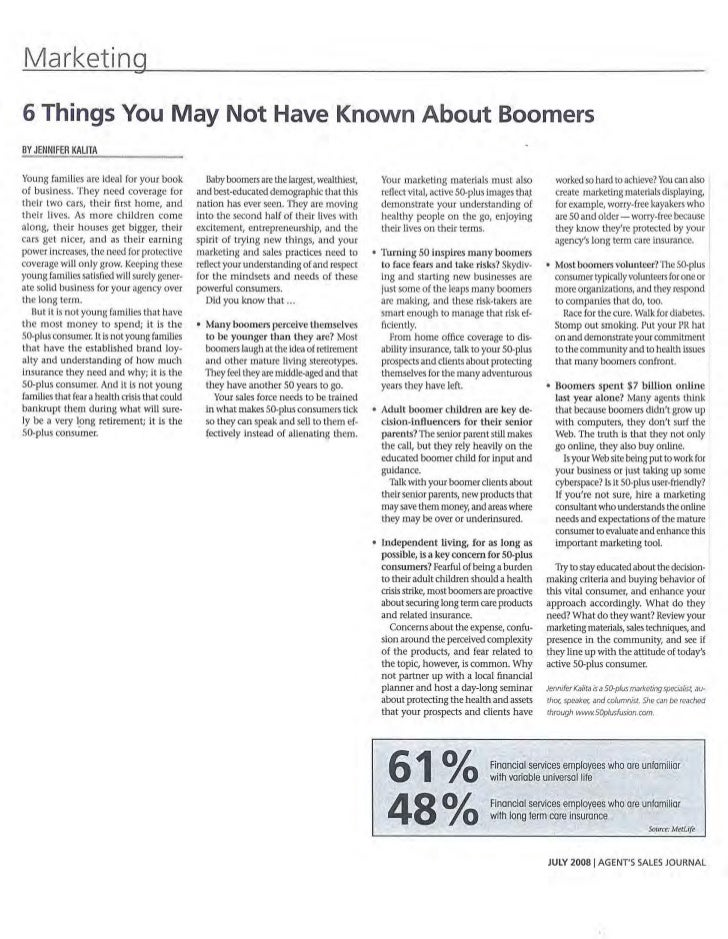 6 Things You May Not Have Known About Boomers