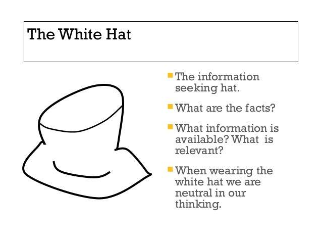 The White Hat ... b3c3d1eb378