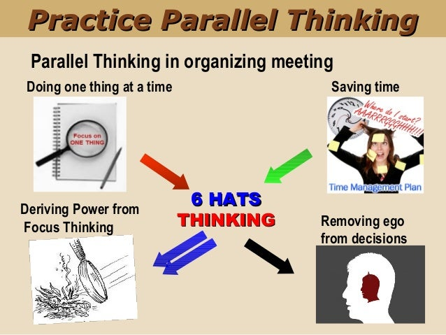 6 thinking hats in change management #1