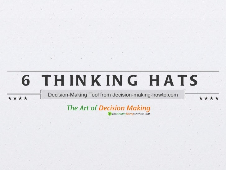Decision making tools pdf ppt