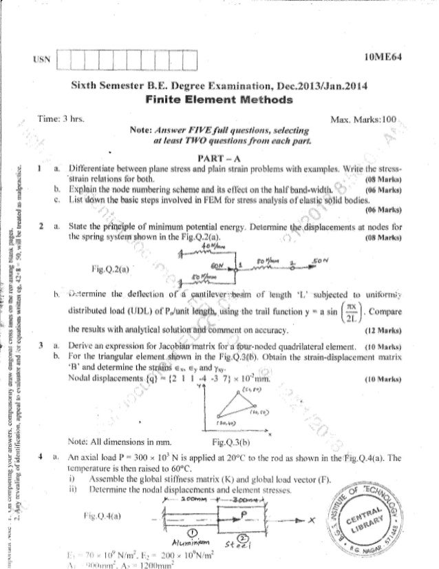6th me question papers dec 2013