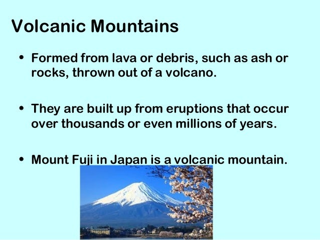 How Are Volcanic Mountains Formed? | Reference.com |Volcanic Mountains Formation