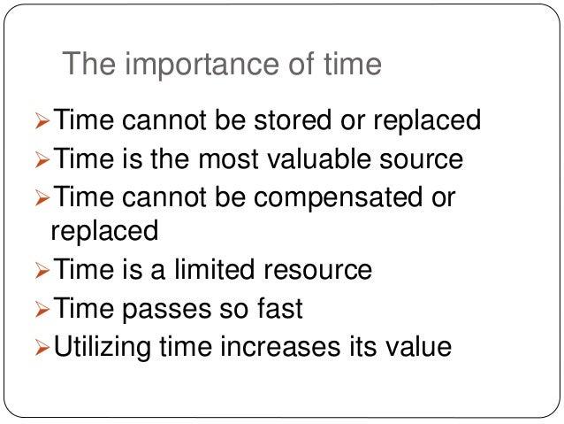 Time management  /  Slide 3