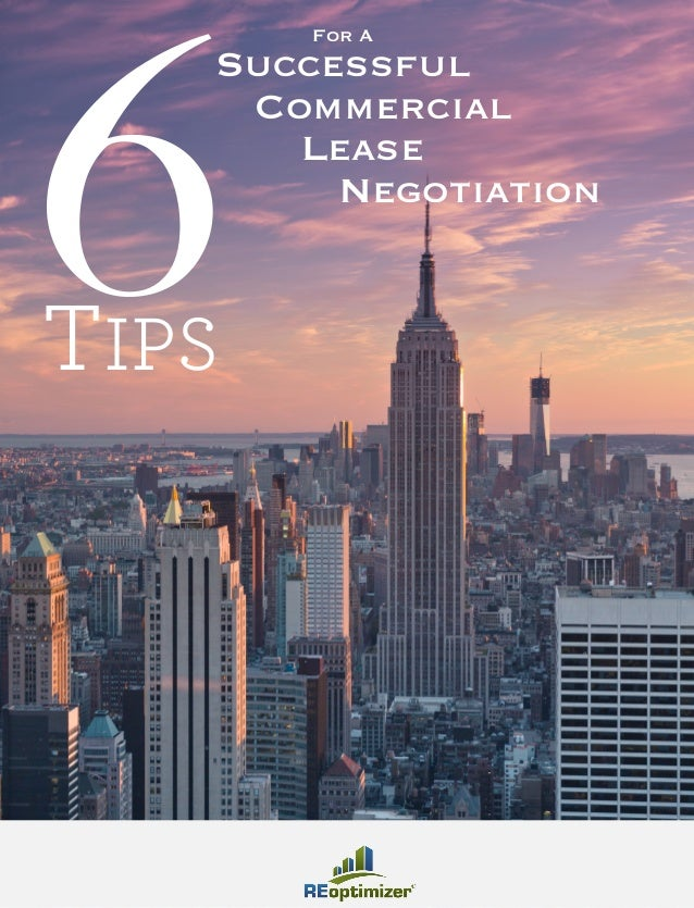6TIPS Successful Commercial Lease Negotiation For A