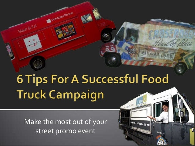 Make the most out of your street promo event
