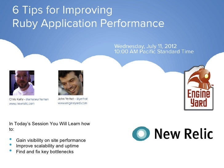 In Today's Session You Will Learn howto:•    Gain visibility on site performance•    Improve scalability and uptime•    Fi...