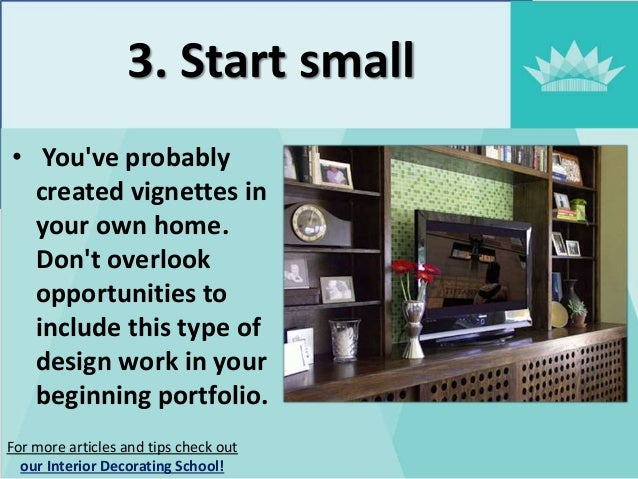 5. 3. & 6 tips for interior design beginners - NYIAD