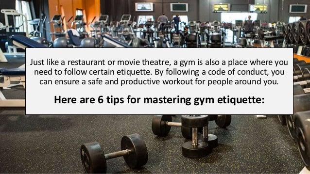 6 tips for mastering gym etiquette Slide 2