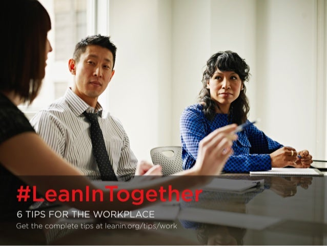--~'.  7  ogether  I ' .1' # Lea n I nT 6 TIPS FOR MEN AT WORK Get the complete tips at leanirmorg/ tips/ worI<  Thomas Ba...