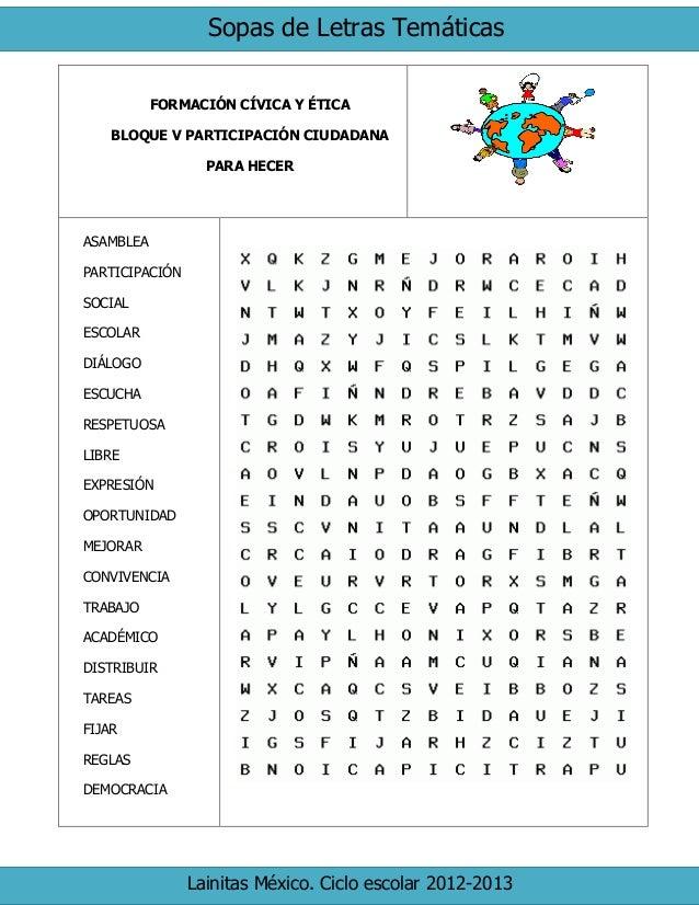 6to grado bloque 5 - sopa de letras (1)