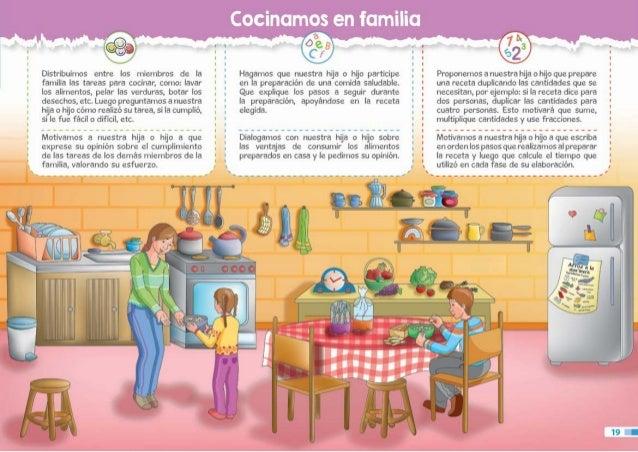6to grado gu a dirigida a madres y padres de familia para for Cuarto ordenado y limpio