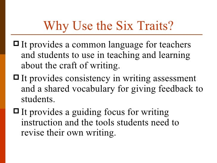 Amazon com  Creating Writers    Traits  Process  Workshop  and         The     Trait Writing Model for Assessment