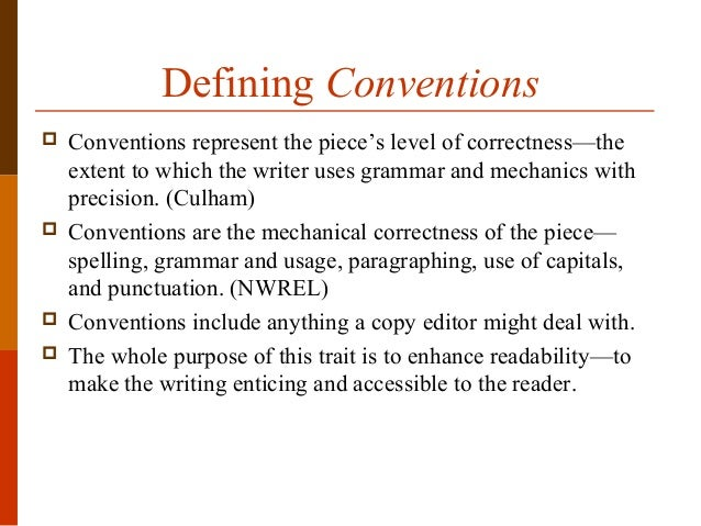 grammatical conventions definition