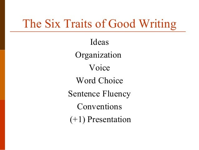 six traits writing model Amazoncom: creating writers: through 6-trait writing assessment and instruction, 5th edition (9780205619108): vicki spandel, cindy marten: books.