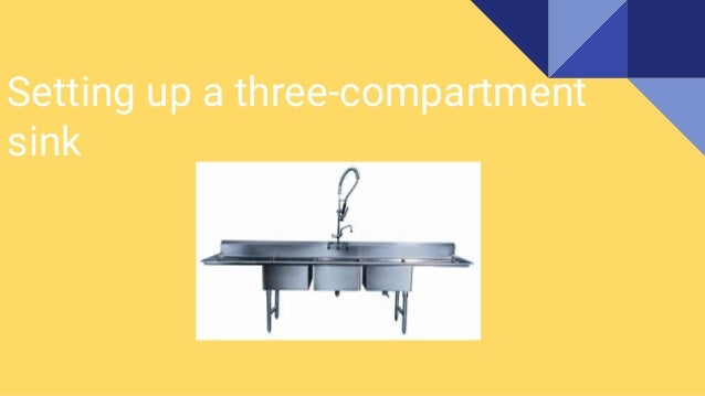 Setting Up A 3 Compartment Sink