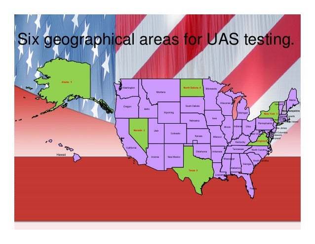 Drones In US Airspace Uas Drone Research Sites In USA - Us airspace map drone