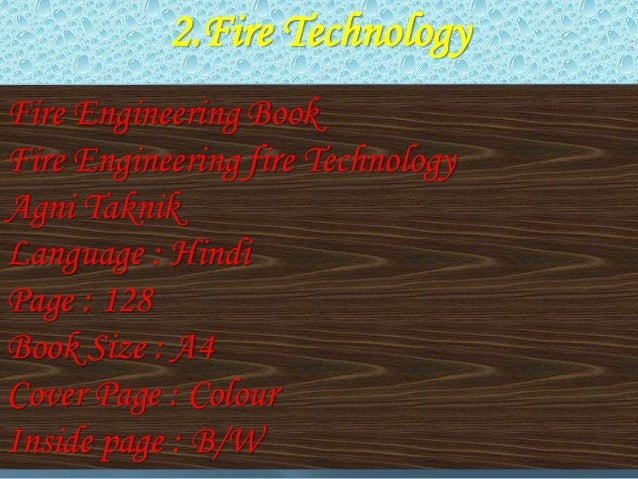 fire safety engineering books pdf