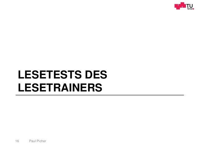 LESETESTS DES LESETRAINERS Paul Picher16